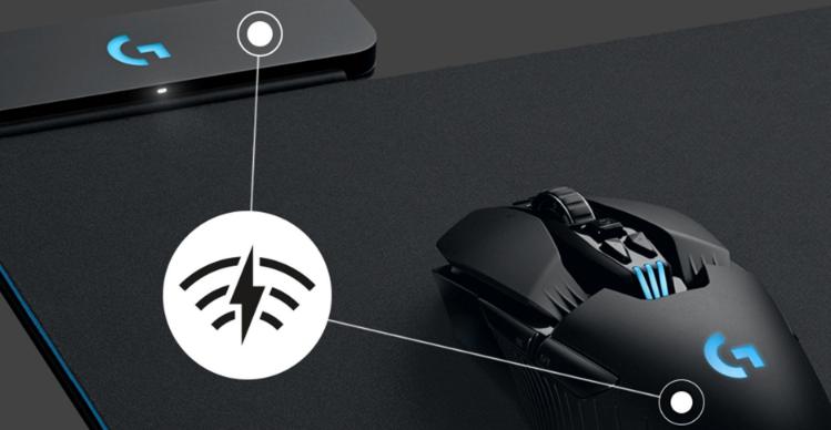 Logitech Powerplay : une souris sans fil pour gamers